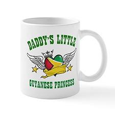 Daddy's little Guyanese Princess Mug