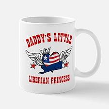 Daddy's little Liberian Princess Mug