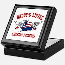 Daddy's little Liberian Princess Keepsake Box