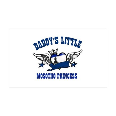 Daddy's Little Mosotho Princess 38.5 x 24.5 Wall P