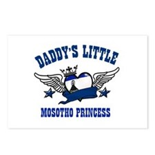 Daddy's Little Mosotho Princess Postcards (Package