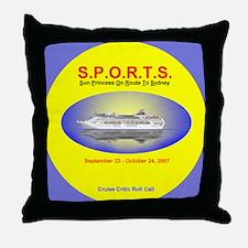 Sun SPORTS- Throw Pillow