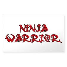 Ninja Warrior Decal