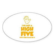 High Five Decal