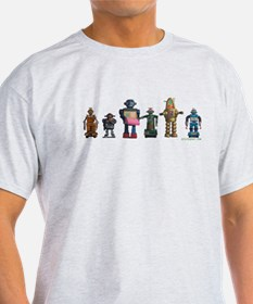 Robot Line Up T-Shirt
