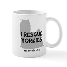 I RESCUE Yorkies Mug