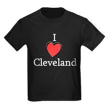 I Love Cleveland - I Heart Cl T