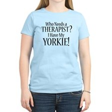 THERAPIST Yorkie T-Shirt