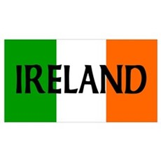 Ireland Flag Wall Art Canvas Art