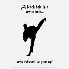 Black Belt Refusal Wall Art