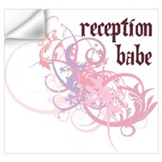 Reception Babe Wall Art Wall Decal