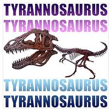 Tyrannosaurus Wall Art Poster