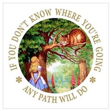 Any Path Will Do Wall Art Poster