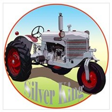 The Heartland Classic Silver Wall Art Poster