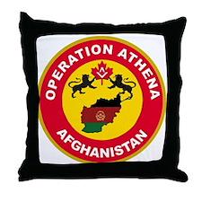 Operation Athena Throw Pillow