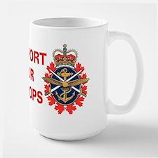 Canadian Forces Logo Large Mug Mugs