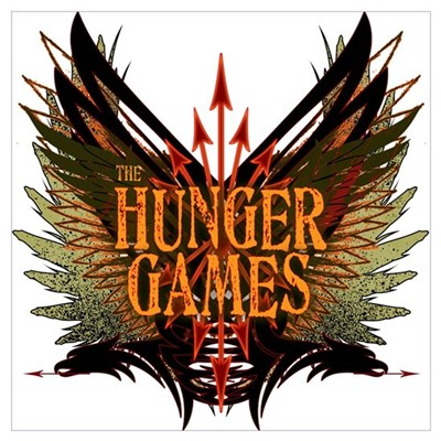 Flight of Arrows The Hunger Games Wall Art Poster