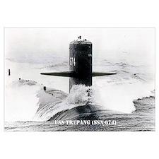 USS TREPANG Wall Art