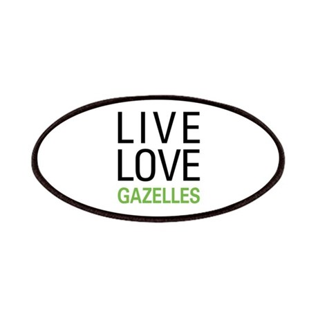 Live Love Gazelles Patches