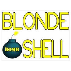 Bombshell Wall Art Poster