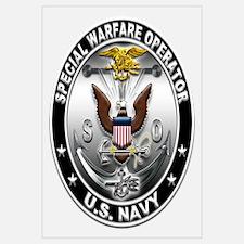 USN Special Warfare Operator Wall Art