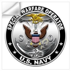 USN Special Warfare Operator Wall Art Wall Decal