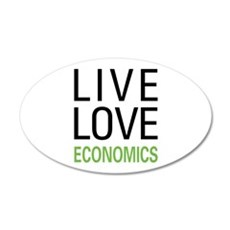 Live Love Economics Wall Decal