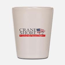 Denny Crane for President Shot Glass