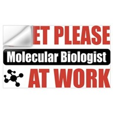 Molecular Biologist Work Wall Art Wall Decal