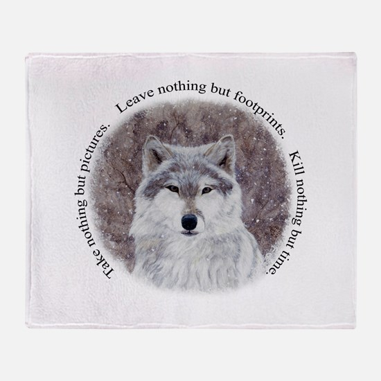 Timeless Wisdom Throw Blanket