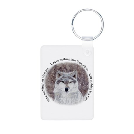 Timeless Wisdom Aluminum Photo Keychain