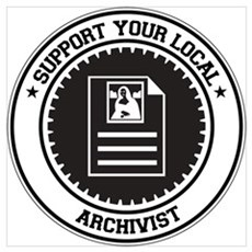 Support Archivist Wall Art Poster
