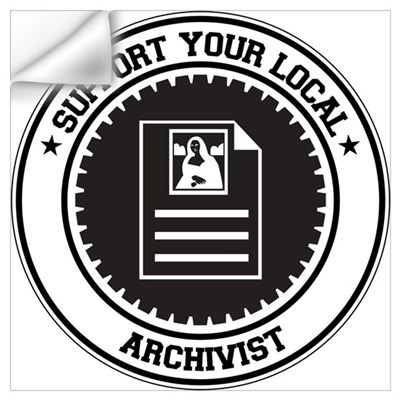 Support Archivist Wall Art Wall Decal