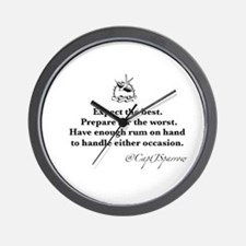 Expect the Best Wall Clock