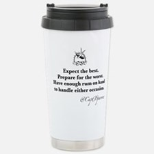 Expect the Best Stainless Steel Travel Mug