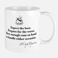 Expect the Best Small Small Mug