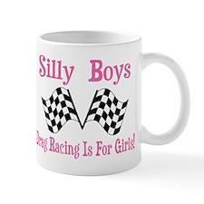 DRAG RACING IS FOR GIRLS Mug