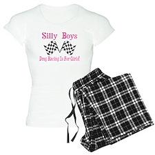 DRAG RACING IS FOR GIRLS Pajamas