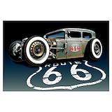 Vintage car rat Wall Art