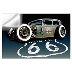 Route 66 RAT Wall Art Wall Decal