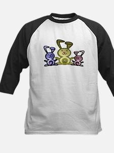 Love Cute Bunnies Kids Baseball Jersey