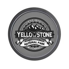 Yellowstone Ansel Adams Wall Clock