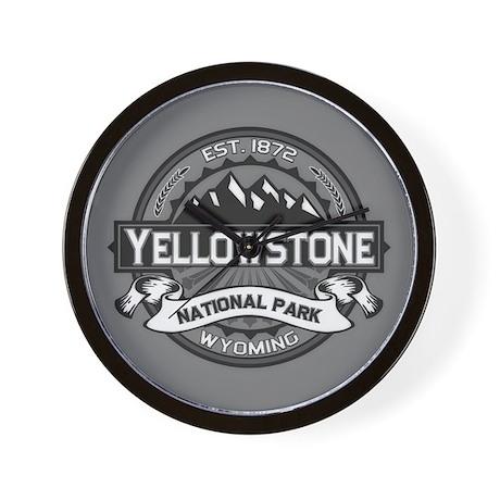 Yellowstone Ansel Adams Wall Clock