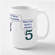 Numbers - Large Mug