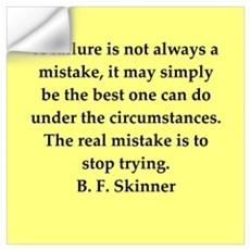 b f skinner quote Wall Art Wall Decal