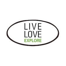 Live Love Explore Patches