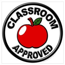 Classroom Approved Wall Art Poster