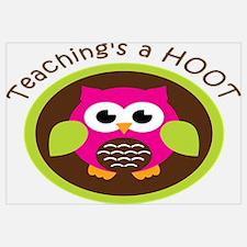 Teaching's a Hoot Wall Art
