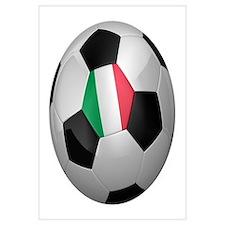 Italian soccer ball Wall Art