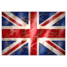 Cute London flag Wall Art